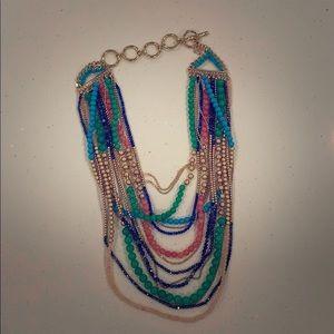 Stella & Dot beaded multi necklace